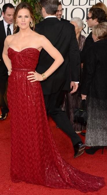 Jennifer Garner in Vivienne Westwood Couture.